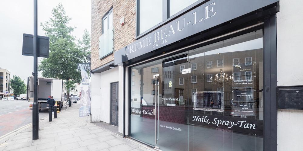 Creme beau le hackney beauty salon in hackney for Hair salon shoreditch